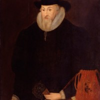 Thomas Egerton, 1st Viscount Brackley, unknown artist. Oil on panel, late-sixteenth to early-seventeenth century. © The National Portrait Gallery, London, NPG 3783.