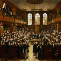 The Reformed House of Commons, 1833, by Sir George Hayter. Oil on canvas, 1833-34. © The National Portrait Gallery, London. NPG 54.