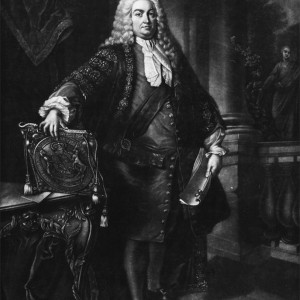 'Portrait of Sir Robert Walpole, First Earl of Orford', by James Watson, after Jean Baptiste van Loo, 1788. Mezzotint, 50.5 × 35 cm. Parliamentary Art Collection, Palace of Westminster, WOA 170. © Parliamentary Art Collection.