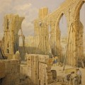 The Demolition of St Stephen's Chapel, by George Stokes. Watercolour on paper, 360×250mm. © The Museum of London, 46.41/2.