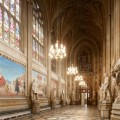 St Stephen's Hall, Palace of Westminster, looking west. © Parliamentary Estates Directorate.