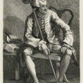 John Wilkes, by William Hogarth. Etching, 1763. © The National Portrait Gallery, London. NPG D8506.